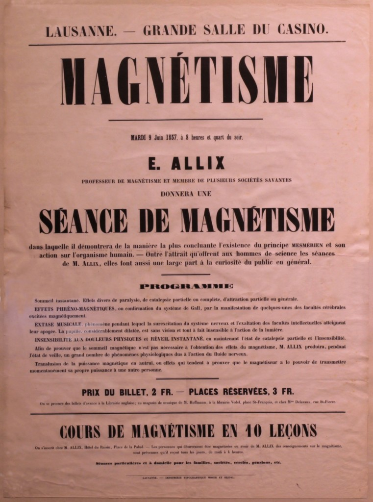 Image from Animal Magnetism, Mesmerism and Hypnotism