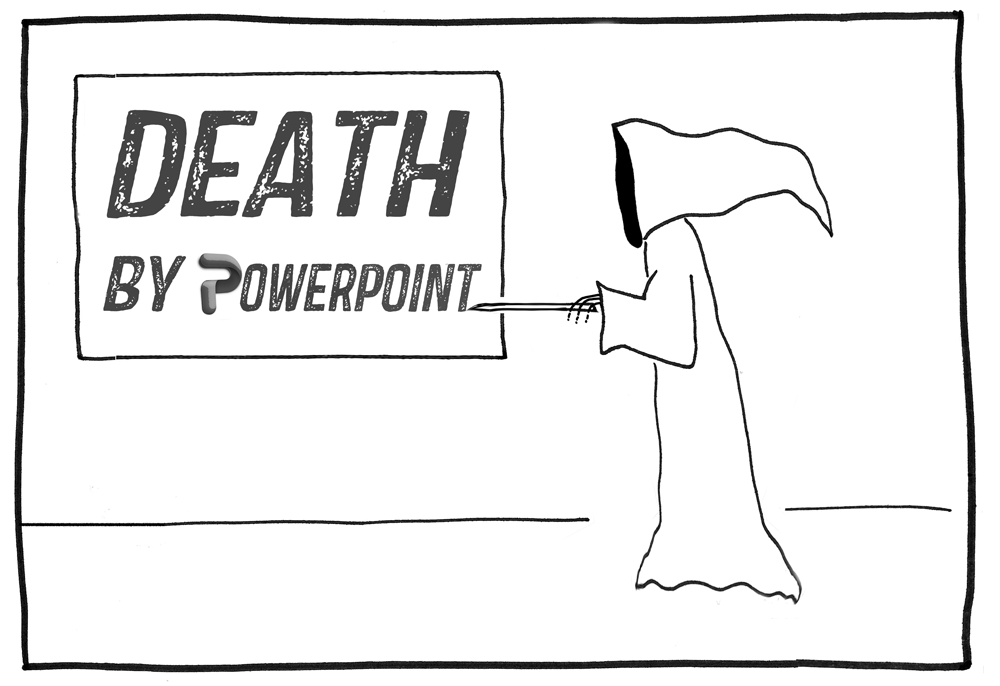 Image from Death By Powerpoint