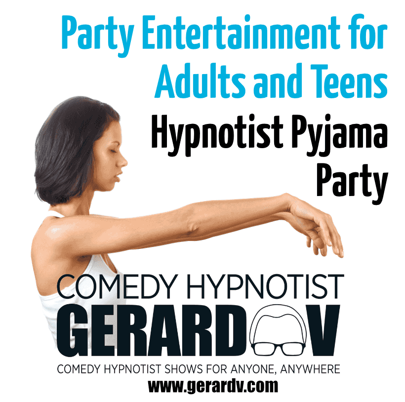Image from The Pyjama Party Sleepover Hypnotist Show Idea