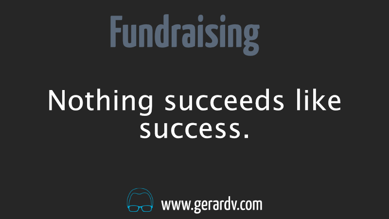Image from One Thing to Get Your Fundraising Off to a Great Start